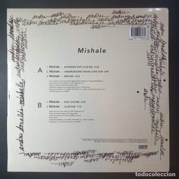 Discos de vinilo: ANDRU DONALDS - mishale - MAXI UK 33 1995 - CAPITOL - Foto 2 - 210125870