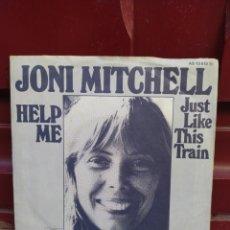 Discos de vinilo: JONI MITCHELL–HELP ME . SINGLE GERMANY 1974. BUEN ESTADO. Lote 210133471