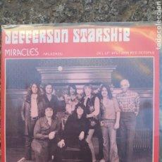 Discos de vinilo: JEFFERSON STARSHIP-MIRACLES . SINGLE VINILO 1975 PERFECTO ESTADO. Lote 210134005