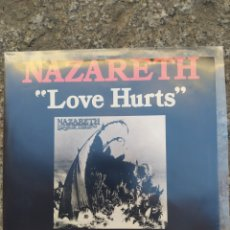 Discos de vinilo: NAZARETH. LOVE HURTS. SINGLE VINILO 1975. PERFECTO ESTADO. Lote 210134518