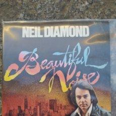 Discos de vinilo: NEIL DIAMOND. BEATIFUL NOISE. SINGLE VINILO - BUEN ESTADO. Lote 210138026