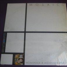 Discos de vinilo: MOSAICO – HOMENAJE AGAPITO MARAZUELA LP COLUMBIA 1984 - CHICHO S. FERLOSIO - VAINICA DOBLE - FOLK. Lote 210144461
