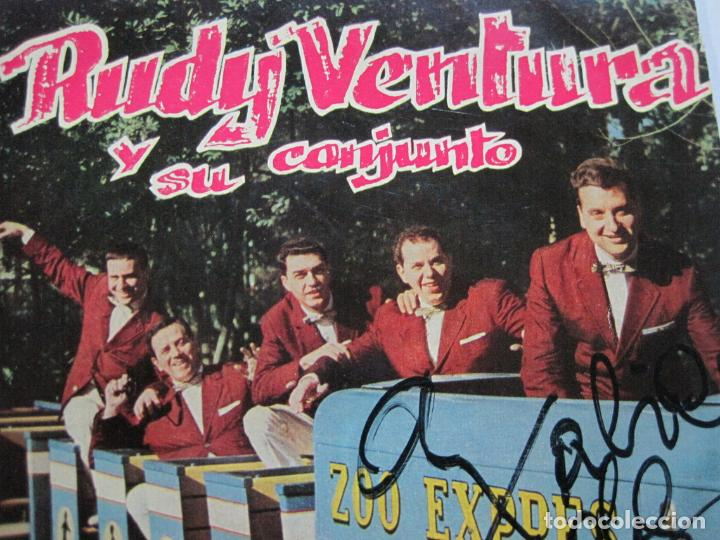 Discos de vinilo: RUDY VENTURA Y SU CONJUNTO-DISCO FIRMADO-COLUMBIA RECORDS-VER FOTOS-(V-21.041) - Foto 4 - 210151241