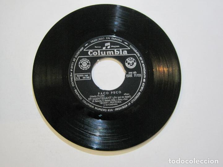 Discos de vinilo: RUDY VENTURA Y SU CONJUNTO-DISCO FIRMADO-COLUMBIA RECORDS-VER FOTOS-(V-21.041) - Foto 7 - 210151241