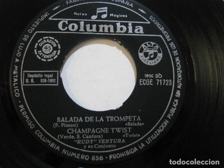 Discos de vinilo: RUDY VENTURA Y SU CONJUNTO-DISCO FIRMADO-COLUMBIA RECORDS-VER FOTOS-(V-21.041) - Foto 10 - 210151241