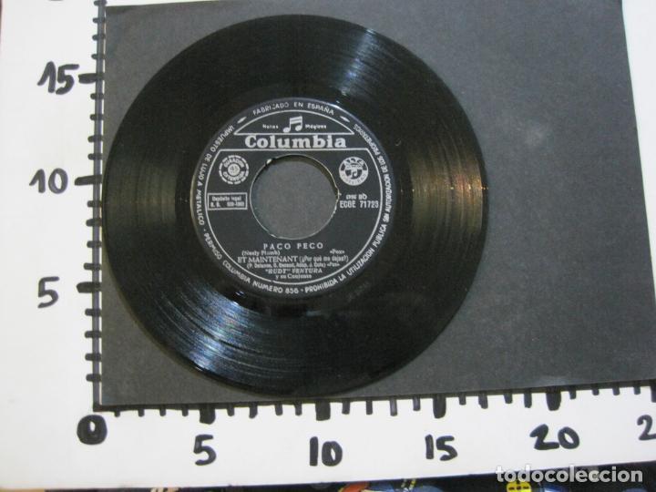 Discos de vinilo: RUDY VENTURA Y SU CONJUNTO-DISCO FIRMADO-COLUMBIA RECORDS-VER FOTOS-(V-21.041) - Foto 11 - 210151241