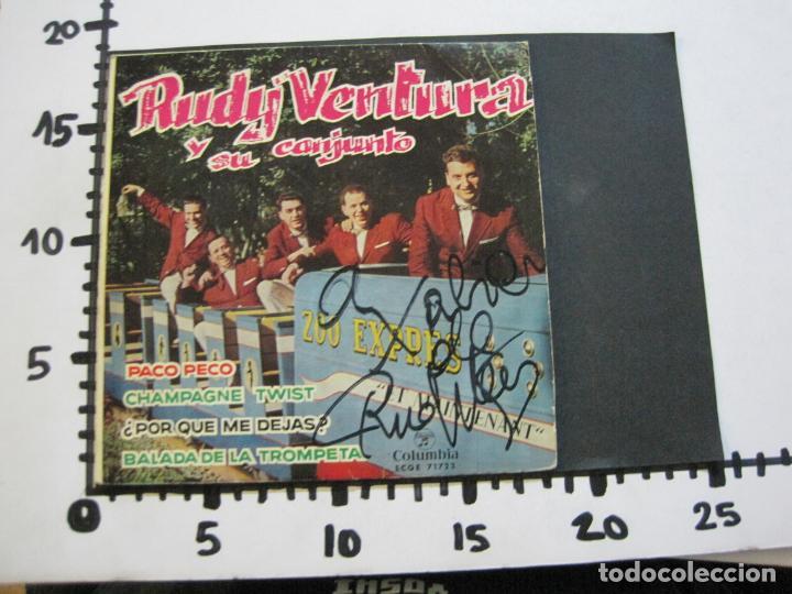 Discos de vinilo: RUDY VENTURA Y SU CONJUNTO-DISCO FIRMADO-COLUMBIA RECORDS-VER FOTOS-(V-21.041) - Foto 12 - 210151241