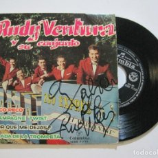 Discos de vinilo: RUDY VENTURA Y SU CONJUNTO-DISCO FIRMADO-COLUMBIA RECORDS-VER FOTOS-(V-21.041). Lote 210151241