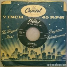 Discos de vinilo: THE WOODY HERMAN BAND. WOULD HE?/ SLEEP/ AUTOBAHN BLUES/ BY PLAY, CAPITOL, USA 1954 EP. Lote 210152263
