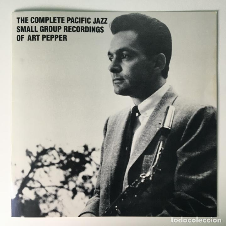 Discos de vinilo: Art Pepper – The Complete Pacific Jazz Small Group Recordings Of Art Pepper, US 1983 Mosaic Records - Foto 2 - 210157930