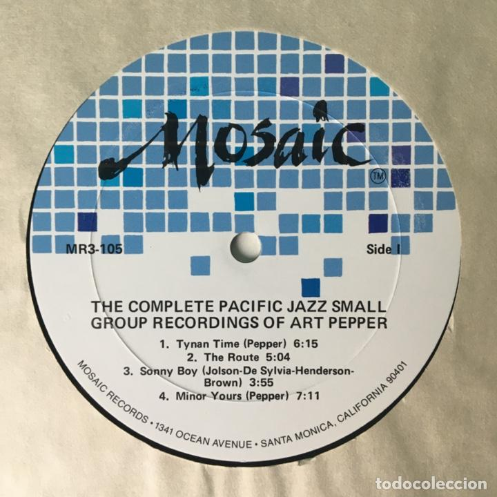 Discos de vinilo: Art Pepper – The Complete Pacific Jazz Small Group Recordings Of Art Pepper, US 1983 Mosaic Records - Foto 6 - 210157930