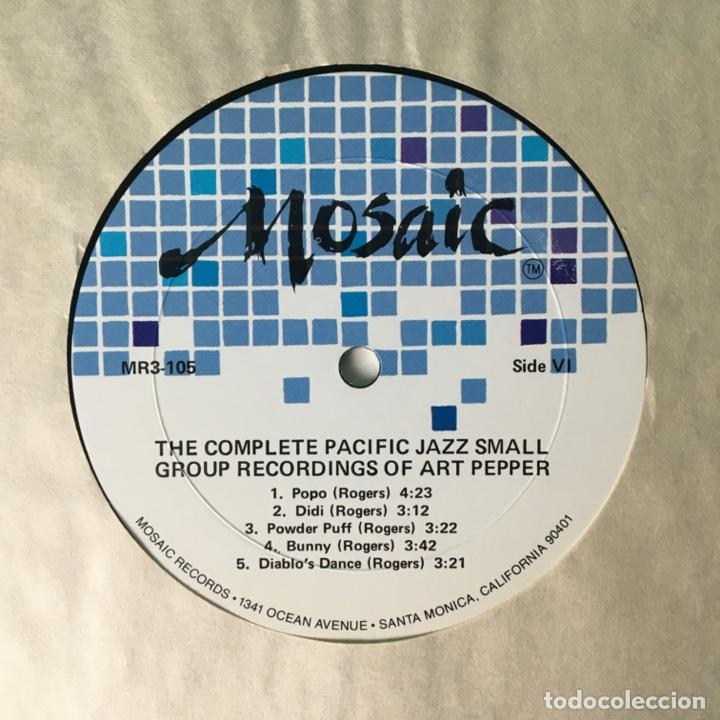 Discos de vinilo: Art Pepper – The Complete Pacific Jazz Small Group Recordings Of Art Pepper, US 1983 Mosaic Records - Foto 9 - 210157930