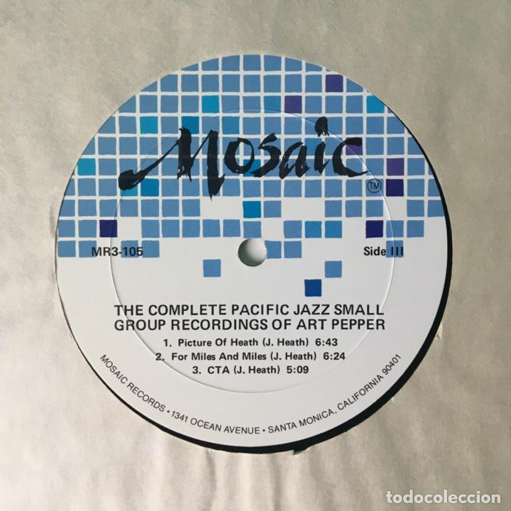 Discos de vinilo: Art Pepper – The Complete Pacific Jazz Small Group Recordings Of Art Pepper, US 1983 Mosaic Records - Foto 10 - 210157930