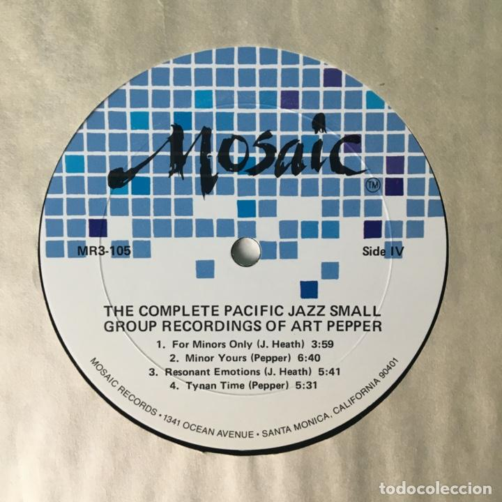 Discos de vinilo: Art Pepper – The Complete Pacific Jazz Small Group Recordings Of Art Pepper, US 1983 Mosaic Records - Foto 11 - 210157930