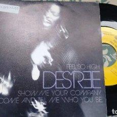 Discos de vinilo: SINGLE ( VINILO) -PROMOCION- DE DES´ REE AÑOS 90. Lote 210162791