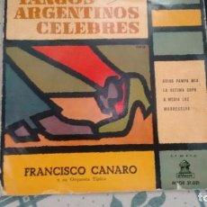 Discos de vinilo: E P ( VINILO) DE FRANCISCO CANARO Y SU ORQUESTA TIPICA. Lote 210163221
