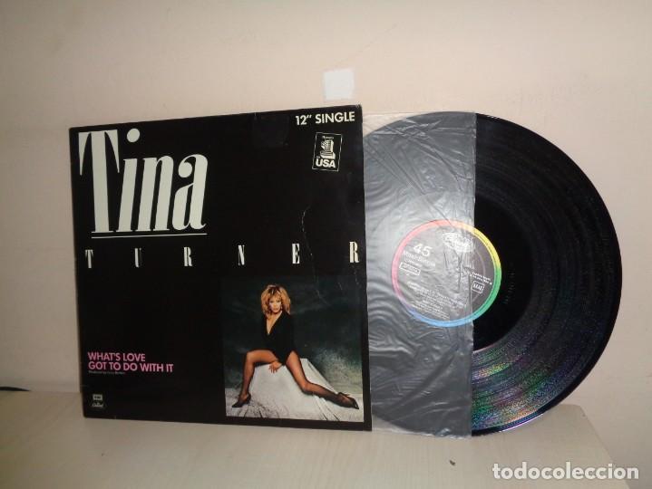 TINA TURNER - WHATS LOVE GOT TO DO WITH IT - 12 SINGLE- EMI CAPITOL BCN- 1984- NUMERO 1 USA (Música - Discos de Vinilo - Maxi Singles - Pop - Rock Extranjero de los 70)