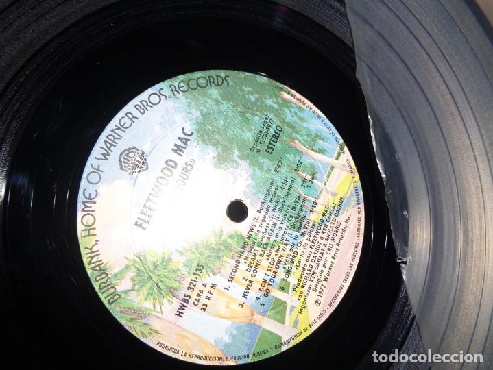 Discos de vinilo: FLEETWOOD MAC - RUMORES - NO 1 USA- HISPAVOX- 1977- MADRID - Foto 3 - 210164056