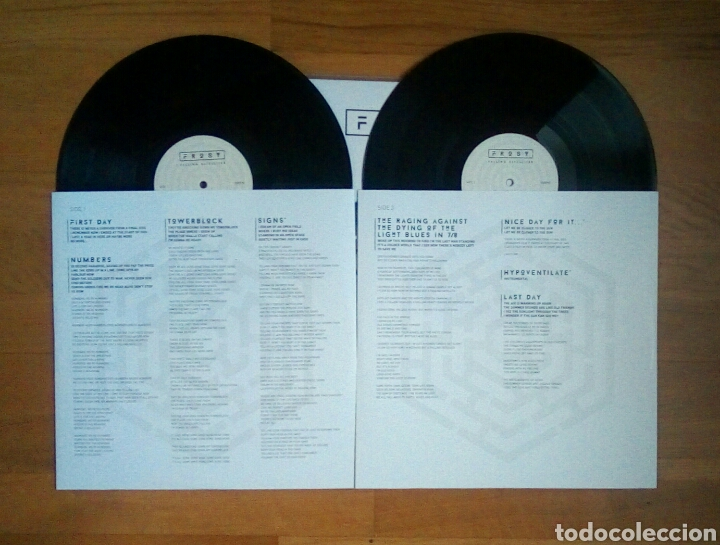 Discos de vinilo: Frost – Falling Satellites, Inside Out Music, 2 × Vinyl, LP, Album, 180 g + CD, 2016. Germany. - Foto 6 - 210113458