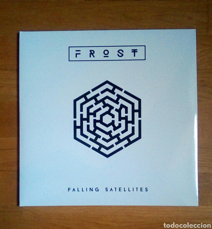 FROST – FALLING SATELLITES, INSIDE OUT MUSIC, 2 × VINYL, LP, ALBUM, 180 G + CD, 2016. GERMANY. (Música - Discos - LP Vinilo - Electrónica, Avantgarde y Experimental)
