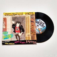 "Discos de vinilo: THE SEX PISTOS. THE GREAT ROCK'N'ROLL SWINDLE 7"". Lote 210169880"