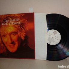 Disques de vinyle: ROD STEWART--THE BEST OF--MADE IN GERMANY -WB RECORDS- 1977-1981-1988-. Lote 210170231