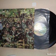 Discos de vinilo: ROD STEWART - A NICHT THE TOWN-WB- HISPAVOX- 1976- MADRID. Lote 210173393