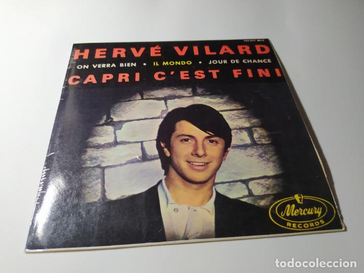 SINGLE / VINILO - HERVÉ VILARD – CAPRI C'EST FINI - 152 037 MCE - EP 4 TEMAS (Música - Discos - Singles Vinilo - Pop - Rock Extranjero de los 50 y 60)