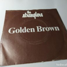 Discos de vinilo: SINGLE / VINILO - THE STRANGLERS – GOLDEN BROWN - BP 407. Lote 210189286