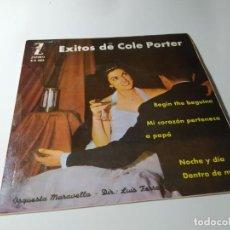 Discos de vinilo: SINGLE / VINILO - EXITOS DE COLE PORTER - ORQUESTA MARAVELLA. Lote 210191653