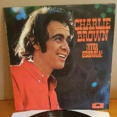 Discos de vinilo: CHARLIE BROWN / VIVA GEORGIA / LP - POLYDOR-1970 / MBC. ***/***. Lote 210192166