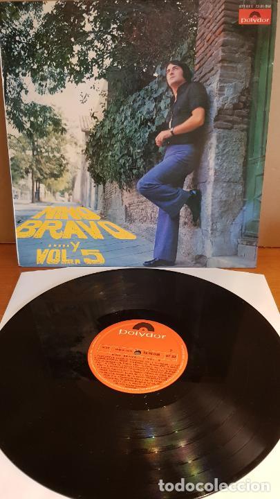 NINO BRAVO...Y VOL. 5 / LP - POLYDOR-1973 / MBC. ***/*** (Música - Discos - LP Vinilo - Solistas Españoles de los 70 a la actualidad)