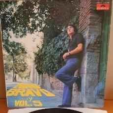 Discos de vinilo: NINO BRAVO...Y VOL. 5 / LP - POLYDOR-1973 / MBC. ***/***. Lote 210193005