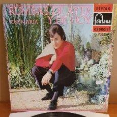 Discos de vinilo: JOSE MARIA / RUMBAS DE AYER Y DE HOY / LP - FONTANA-1970 / MBC. ***/***. Lote 210193686