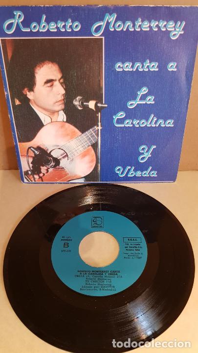 ROBERTO MONTERREY CANTA A LA CAROLINA Y ÚBEDA / EP - DAMITOR-1982 / MBC. ***/*** DIFÍCIL. (Música - Discos de Vinilo - EPs - Flamenco, Canción española y Cuplé)