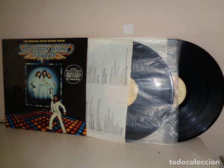 THE ORIGINAL MOVIE SOUND TRACK-2LPS- FIEBRE SABADO NOCHE-BEE GEES-1977-RSO RECORDS-1977- MADRID (Música - Discos - LP Vinilo - Bandas Sonoras y Música de Actores )