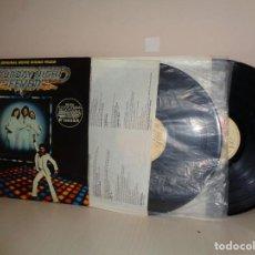 Discos de vinilo: THE ORIGINAL MOVIE SOUND TRACK-2LPS- FIEBRE SABADO NOCHE-BEE GEES-1977-RSO RECORDS-1977- MADRID. Lote 210194797