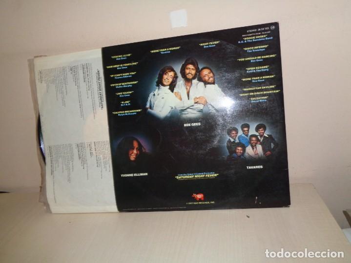 Discos de vinilo: THE ORIGINAL MOVIE SOUND TRACK-2LPS- FIEBRE SABADO NOCHE-BEE GEES-1977-RSO RECORDS-1977- MADRID - Foto 3 - 210194797