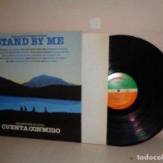 Discos de vinilo: BANDA SONORA ORIGINAL DEV LA PELICULA -STAND BY ME--CUENTA CONMIGO- ATLANTIC- 1986- MADRID-. Lote 210195940