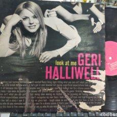 Discos de vinilo: GERI HALLIWELL MAXI LOOK AT ME ITALIA 1999. Lote 210199452
