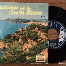 Discos de vinilo: SARDANAS EN LA COSTA BRAVA. Nº 3. REGAL.. Lote 210204288