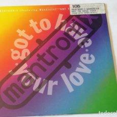 Discos de vinilo: MANTRONIX FEATURING WONDRESS - GOT TO HAVE YOUR LOVE - 1989. Lote 210208612