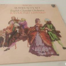 Discos de vinilo: BACH -RAYMOND LEPPARD .. Lote 210217635