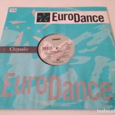 Discos de vinilo: SIDNEY - VITAL SONG. Lote 210221263
