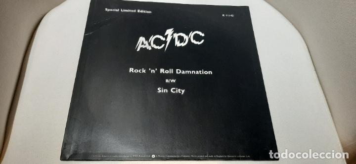 "Discos de vinilo: AC/DC ROCK N ROLL DAMNATION- (1978) MAXI-SINGLE 12"" - Foto 2 - 210227525"