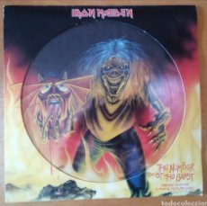 Discos de vinilo: IRON MAIDEN - THE NUMBER OF THE BEAST. Lote 210228190