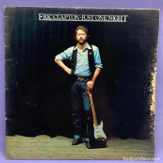 Discos de vinilo: LP. ERICCLAPTON - JUST ONE NIGHT - VG. Lote 210228576