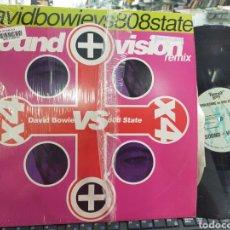 Discos de vinilo: DAVID BOWIE VS 808 STATE MAXI SOUND + VISIÓN 1991. Lote 210230033