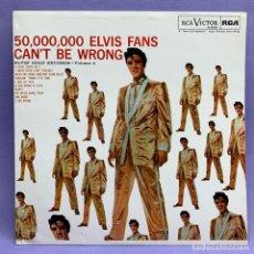 Discos de vinilo: LP ELVIS' GOLD RECORDS - ESPAÑA - EX. Lote 210230246