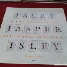 Discos de vinilo: VINILO ( ISLEY JASPER ISLEY ‎– 8TH WONDER OF THE WORLD)1987 EPIC - 45 RPM, MAXI-SINGLE SOUL, DISCO. Lote 210231203